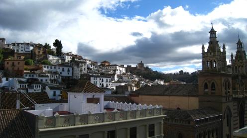 Uitzicht op het Albaicín