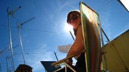 Studeren in het zonnetje