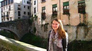 Celine in het Albaicín