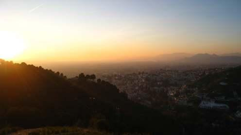 Uitzicht vanaf Silla del Moro