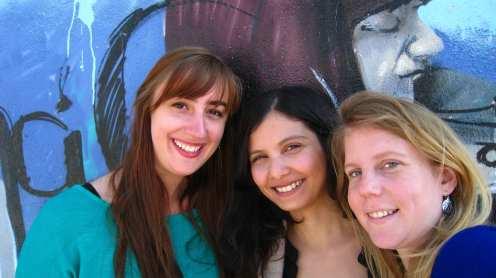 Realejo, Marie, Myriam en ik
