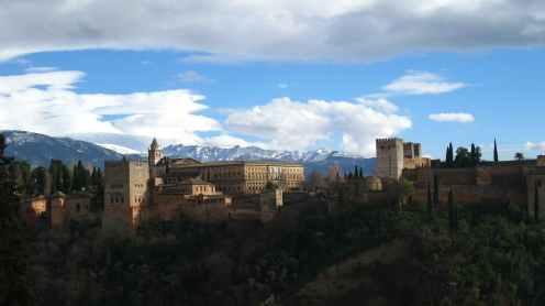 Mirador San Nicolas, uitzicht op het Alhambra