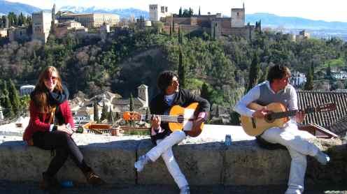 Mirador San Nicolas, flamencoband