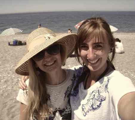 Strand Salobreña, Anet en ik