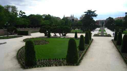 Madrid, park Retiro