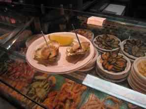 Madrid, Mercado San Miguel, dé oester