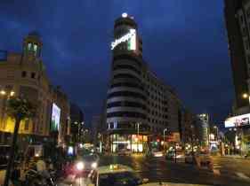 Madrid, Gran vía