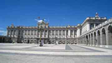 Madrid, palacio real