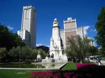 Madrid, Plaza España