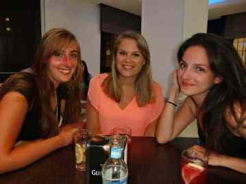 Afscheid, Nora, Réka en ik