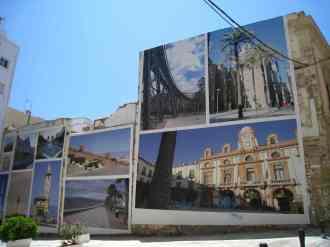 Almería, fotomuur