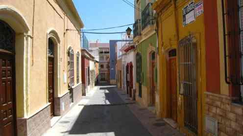 Almería, straatbeeld