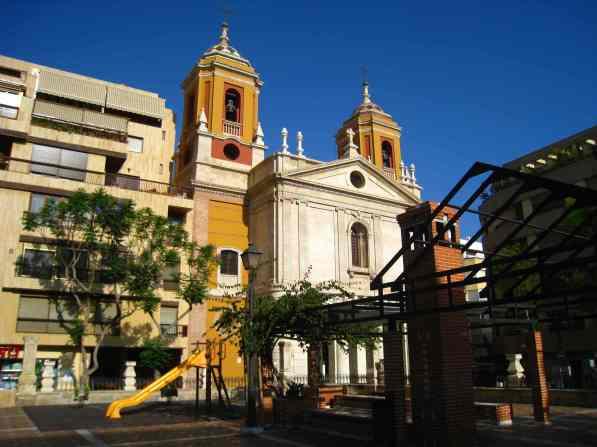 Almería, iglesia de San Pedro
