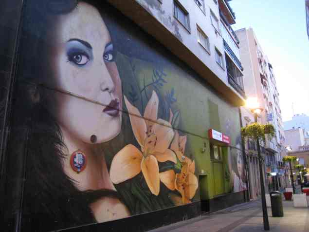 Almería, graffiti