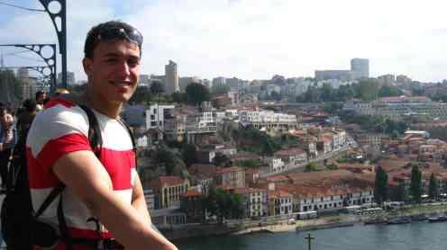 Uitzicht op Vila Nova do Gaia