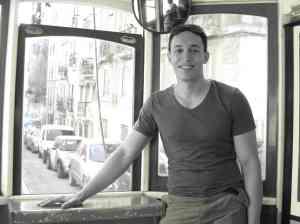In tram 28