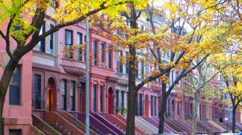 Harlem, townhouses