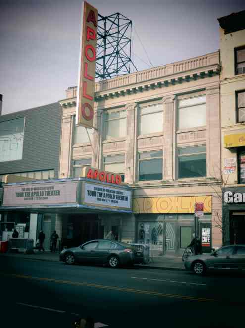 Harlem, Apollo theater