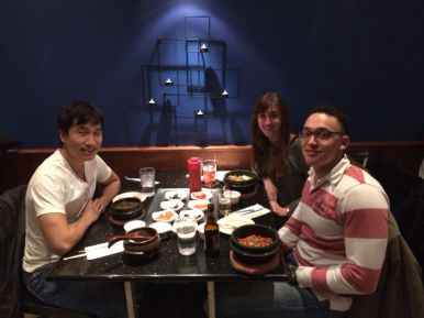 Korean food met host Jacob