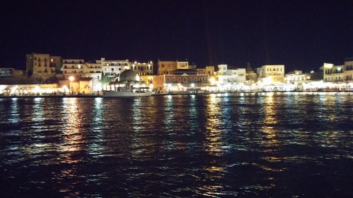 Chania by night