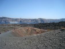 Vulkaan Neo Kameni