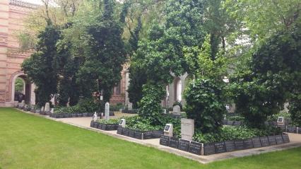 Memorial park bij grote synagoge