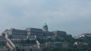 Uitzicht op burcht van Boeda