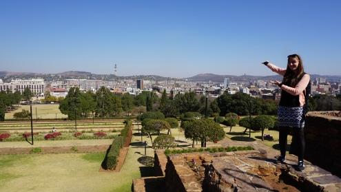 Uitzicht bij Uniegebouwen
