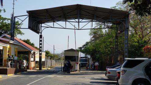 Grensovergang naar Swaziland