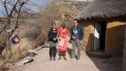 Lesotho, de medicijnman