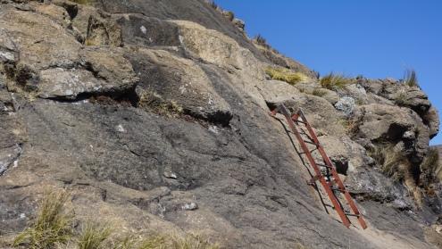 Drakensbergen, hike naar Sentinel Peak