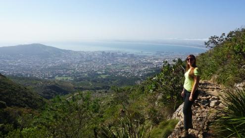 Hiken naar de top van de Tafelberg