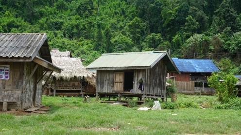 Weer terug in het dorpje