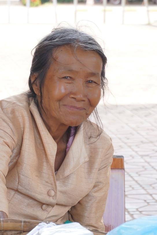 Vrouwtje bij de Patuxay