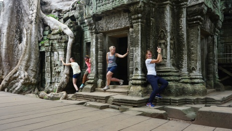 Ta Prohm, Tomb Raider fotoshoot