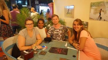 Reunie met Lois, Vincent en Luana