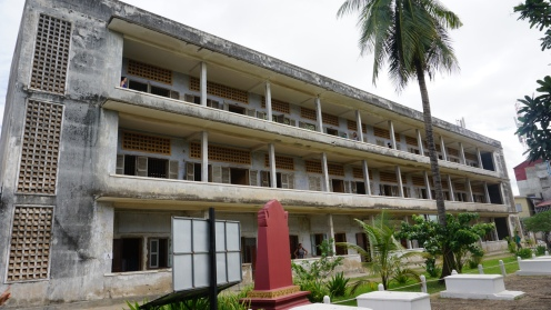 S21 gevangenis, gebouw A