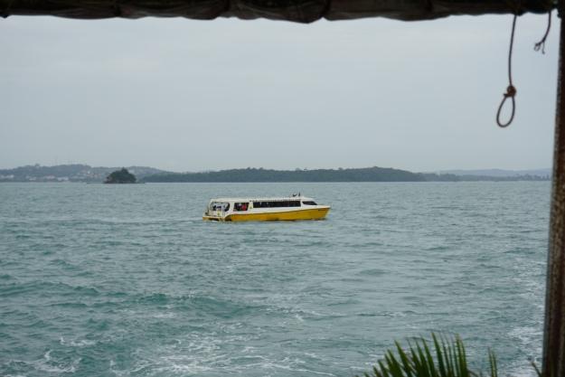 De kapotte ferry