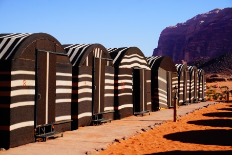 Wadi Rum, kamp