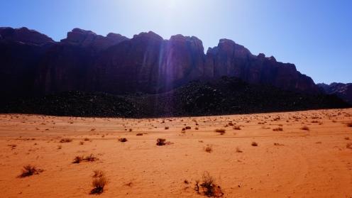 Wadi Rum, morning glory