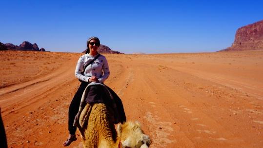 Wadi Rum, kamelentocht