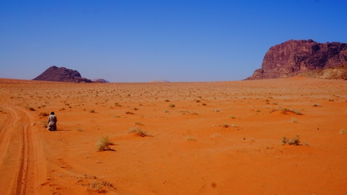 Wadi Rum, even bidden