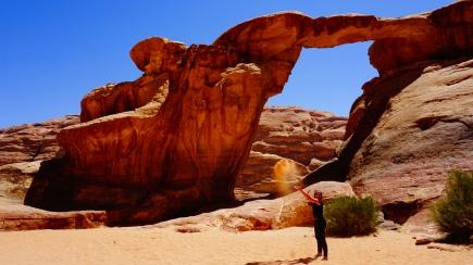 Wadi Rum, boog