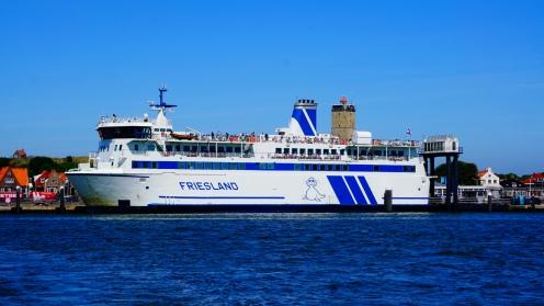 Boot van Harlingen naar Terschelling