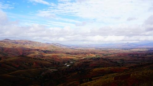 Uitzicht op Ambalavao