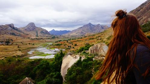 Uitzicht vanaf Réserve d'Anja