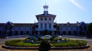 Antsirabe, hôtel des thermes