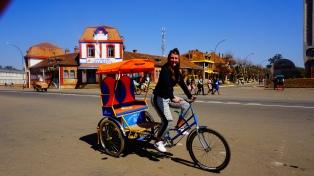 Antsirabe, op de cyclo-pousse