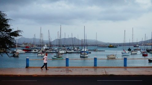 Mindelo harbour