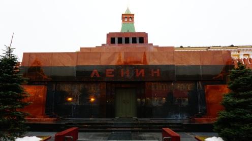 Rode Plein, mausoleum van Lenin